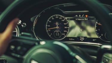 Bentley Continental GT V8 review - dials