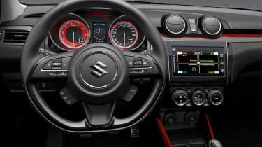 Suzuki Swift Sport cabin