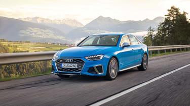 Audi S4 TDI review - nose