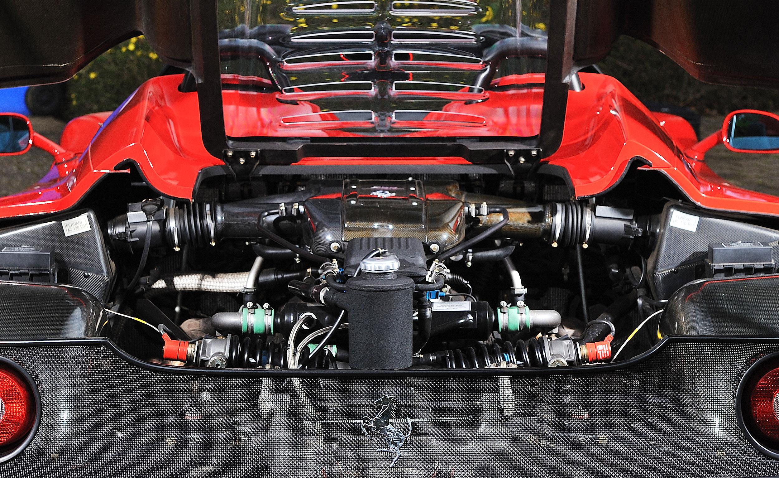 Ferrari F50 Rear Mesh Art Of Speed Evo