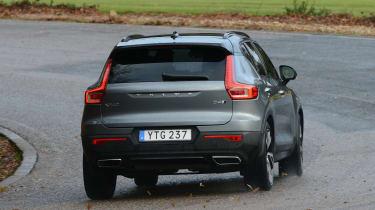 Volvo XC40 - grey rear