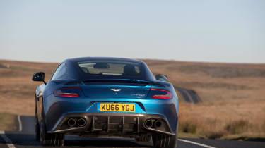 Aston Martin Vanquish S - rear cornering