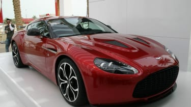 V12 Zagato shown in Kuwait