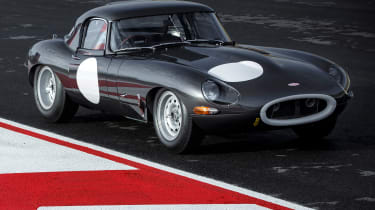Lightweight Jaguar E-Type - front static