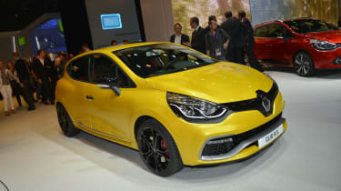 RenaultSport Clio 200 Turbo at the Paris motor show