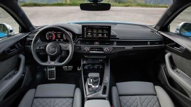 Audi S4 TDI review - dash