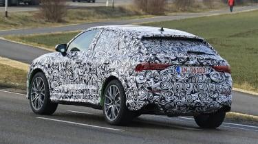 Audi RS Q3 Sportback spy - rear quarter