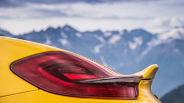 Porsche Boxster Spyder - ducktail