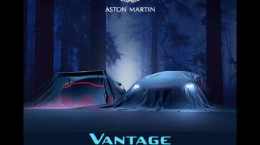 Aston Martin Vantage teaser -