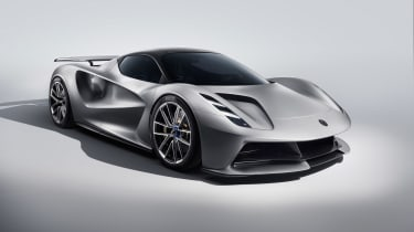 Lotus Evjia revealed - front quarter