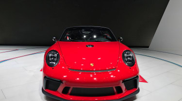 Porsche 911 Speedster - nose