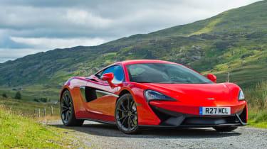 McLaren 12C - front three quarter