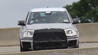 Ford Ranger Raptor spy - front 2