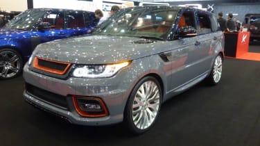 Geneva tuners: Kahn Range Rover