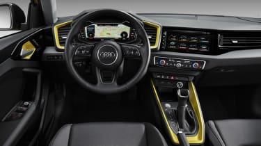 Audi A1 2018 revealed - dash