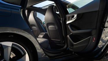 Audi S5 Sportback rear cabin