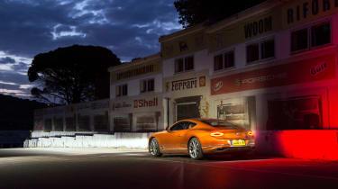 Bentley Conti GT roadtrip