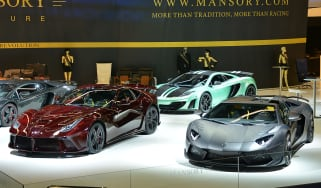Mansory's 1200bhp F12 and Aventador Carbonaro