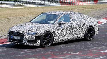 2018 Audi S6 spied - 3/4