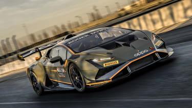 Lamborghini Huracán Super Trofeo Evo 2 – front quarter