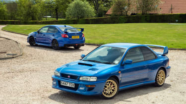 Subaru WRX STI Final Edition - static
