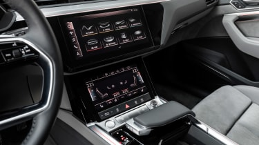 Audi e-tron 2019 screen
