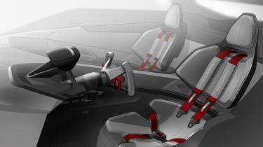 Volkswagen Golf GTI Speedster interior seats
