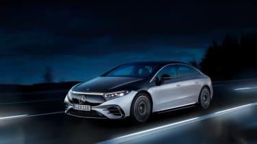 Mercedes-Benz EQS – quarter