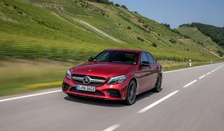 Mercedes-AMG C43 2018 facelift - front quarter