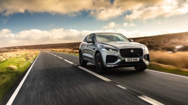 Jaguar F Pace 2021 review - P400