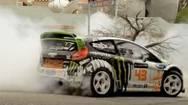 Ken Block Gymkhana Four - The Hollywood Megamercial