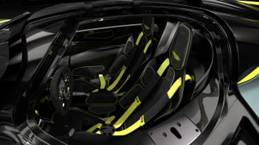 Aston Martin Valkyrie AMR - cabin