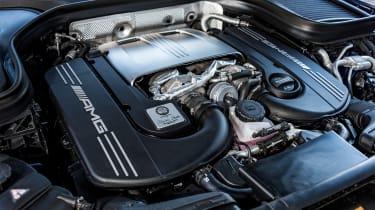 Mercedes-AMG GLC 63 S - engine