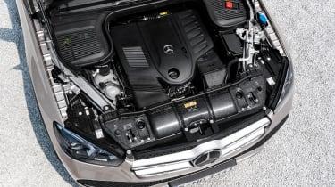 new Mercedes-Benz GLE - engine bay