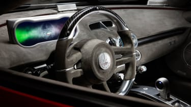 ATS Automobili GT Launch Edition - steering wheel