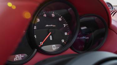Porsche Boxster 25 dials