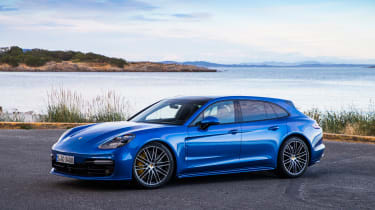 Porsche Panamera Sport Turismo Turbo - Front