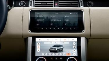 MY18 Range Rover - infotainment