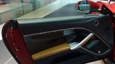 Ferrari F12 Berlinetta inside door