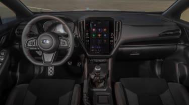 All-new 2022 Subaru WRX – dash
