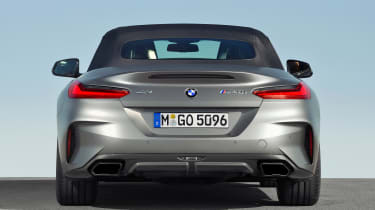 BMW Z4 M40i silver - rear