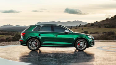 Audi SQ5 TDI - side