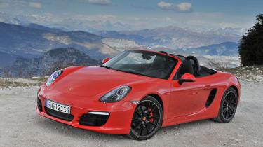 2012 Porsche Boxster S front view