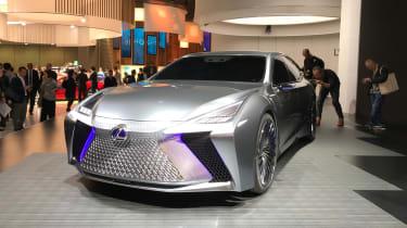 Lexus LS+ Concept – front