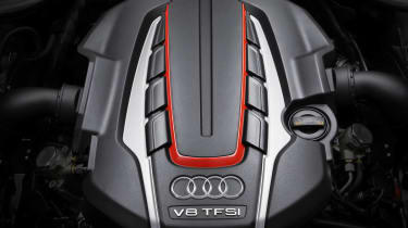 Audi twin-turbo 4-litre V8