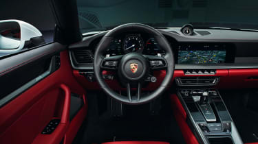 Porsche 911 Carrera - interior