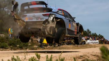 WRC Rally Sardinia - Hyundai