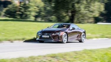Lexus LC500h - front driving