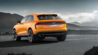 Audi SQ8 - rear three quarter