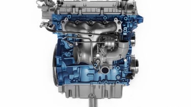 Ford S-MAX Ecoboost engine